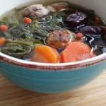 Watercress Soup with Pork Ribs