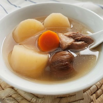 Daikon Radish Soup Recipe