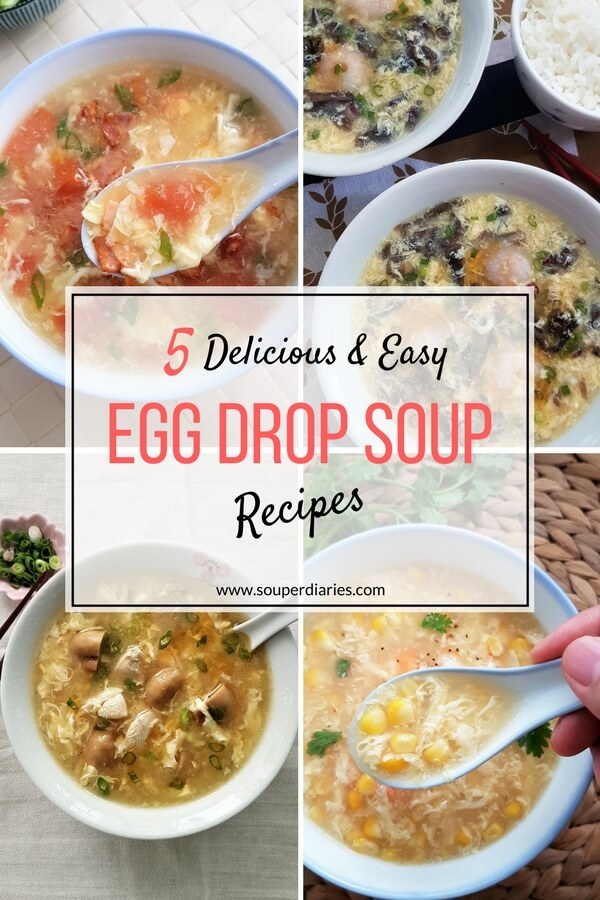 5 easy egg drop soup recipes