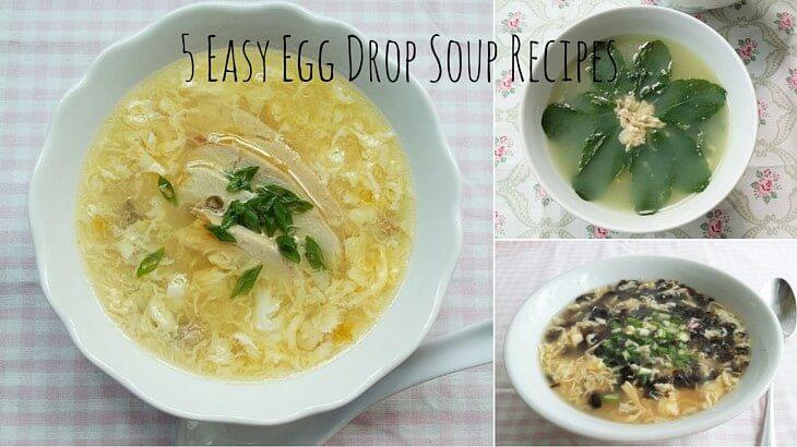 5 Easy Egg Drop Soup RecipesSouper Diaries