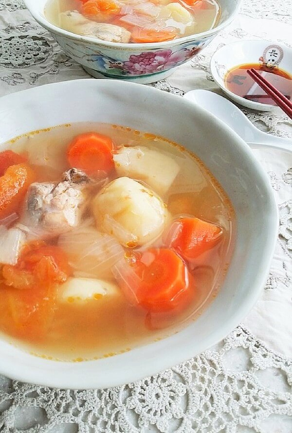 Chicken ABC Soup