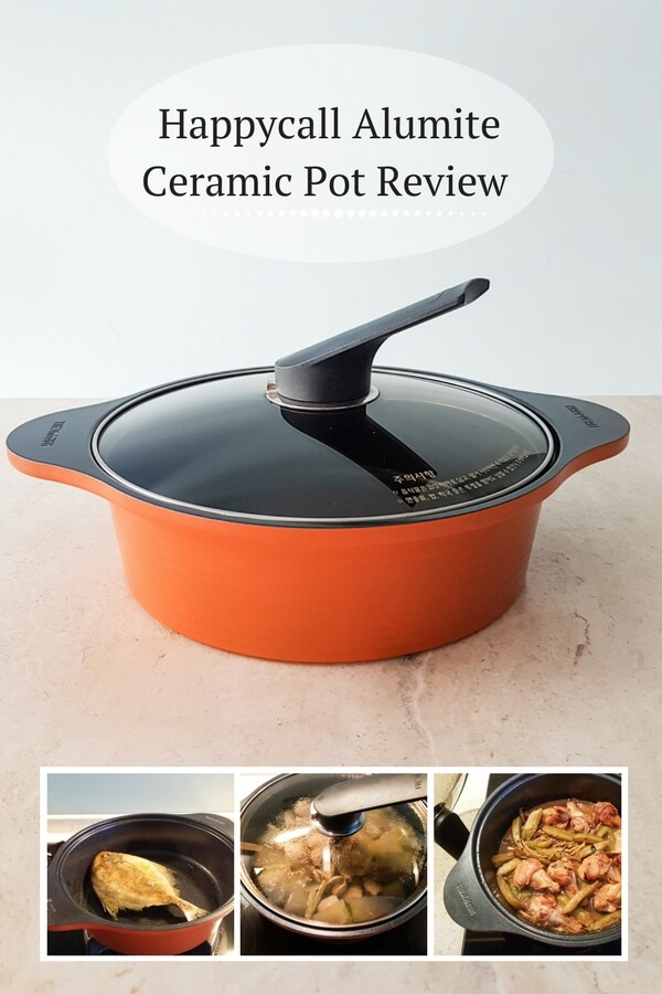 Happycall alumite ceramic pot review