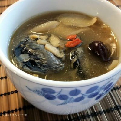 Ginseng with Chicken Soup