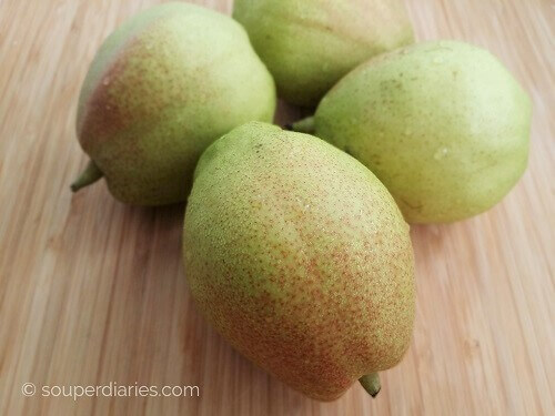 fragrant pears