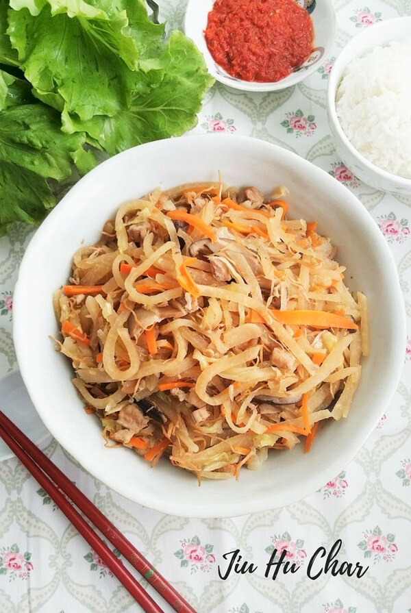 Jiu Hu Char recipe