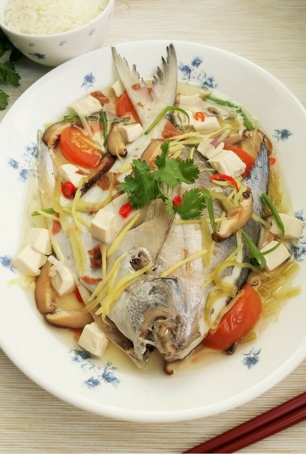 Teochew steamed fish recipe souper diaries for Steamed fish recipes
