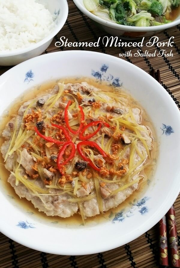 Steamed pork with salted fish souper diaries steamed pork with salted fish forumfinder Images