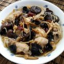 Steamed Chicken with Black Fungus