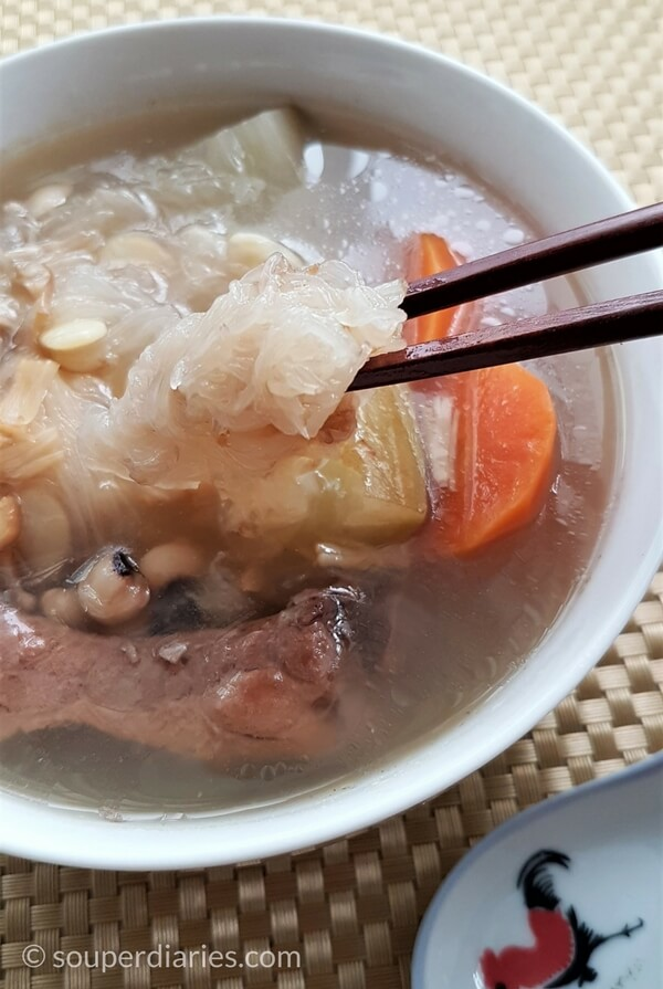 Shark's fin melon soup