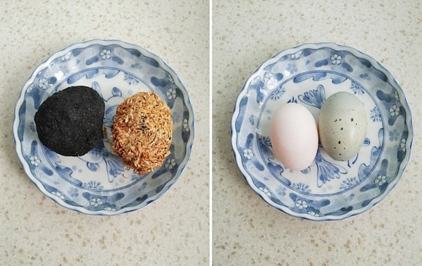 salted duck egg and century egg