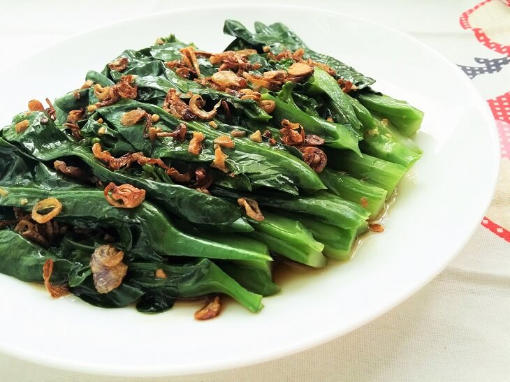 Chinese Broccoli With Oyster Sauce Recipe - Souper Diaries-8816