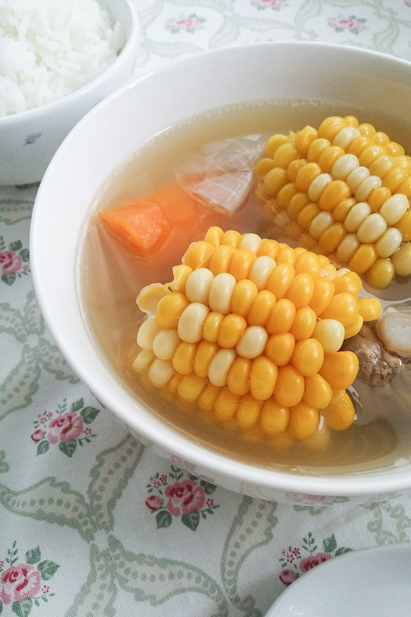 Chinese corn soup (Thermal Cooker Recipe)