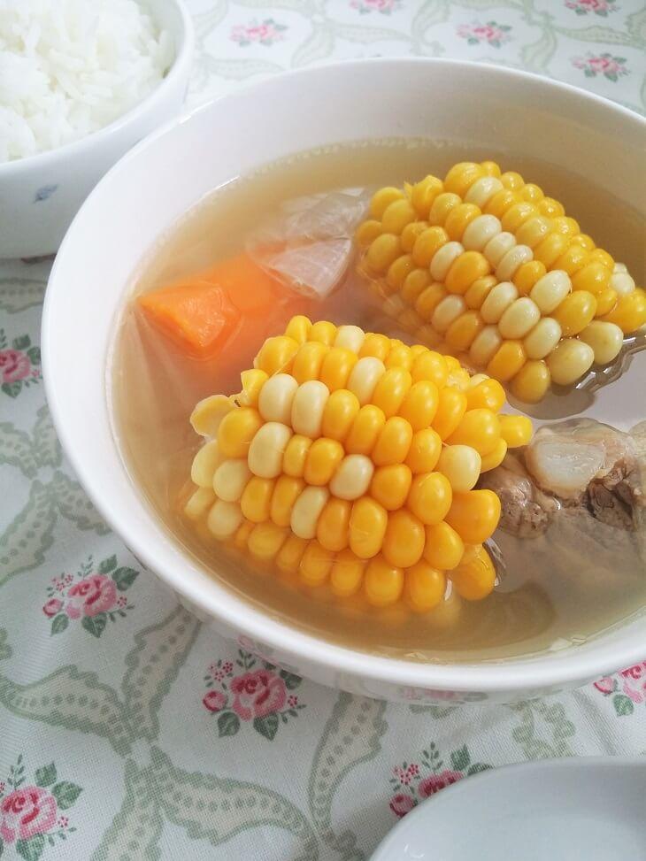chinese sweet corn soup