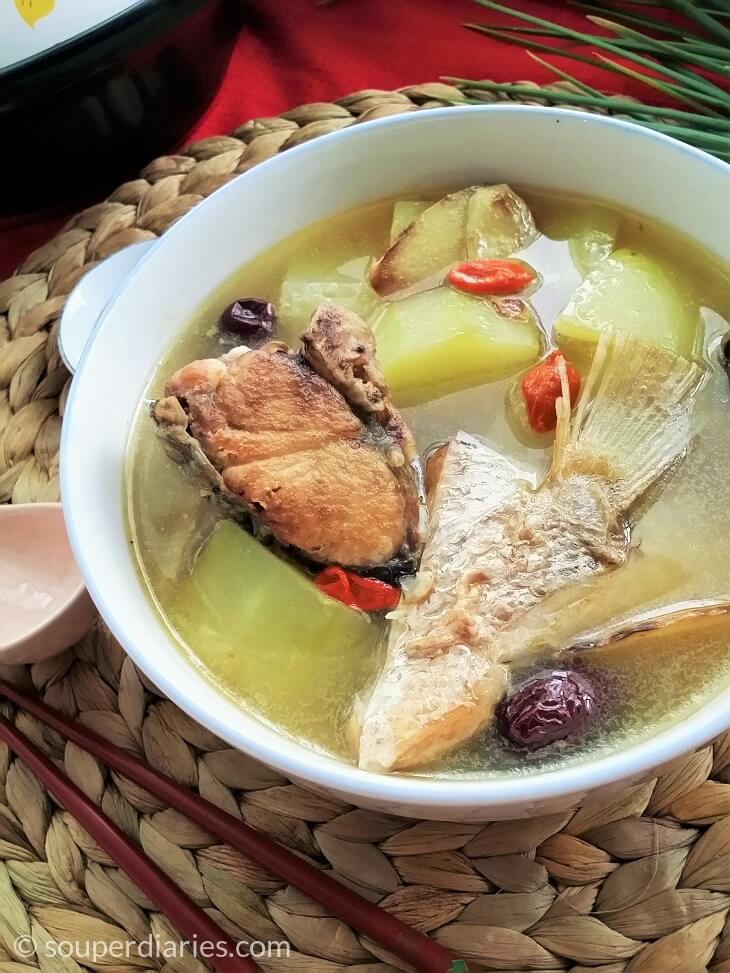 green papaya fish soup recipe