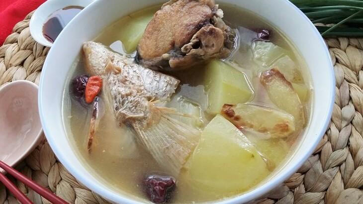 green papaya soup recipe