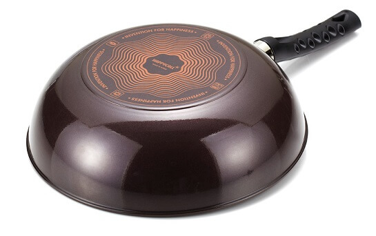 happy call frying pan review