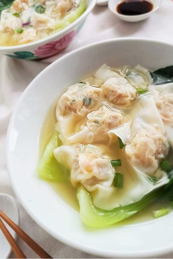 Shrimp and Pork Wonton Soup