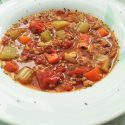 Ground Pork Tomato Stew