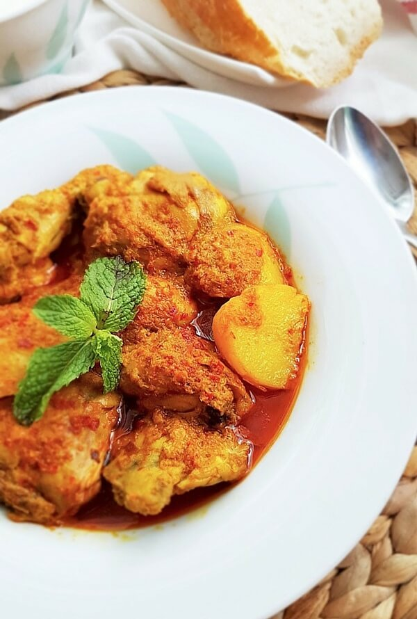Nyonya chicken curry recipe