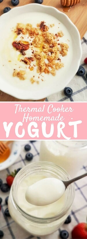 Easy homemade yogurt recipe