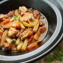 Claypot Braised Chicken with Bitter Gourd – A Homely and Classic Chinese Dish