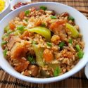 Chinese Mustard Greens Rice (芥菜饭)