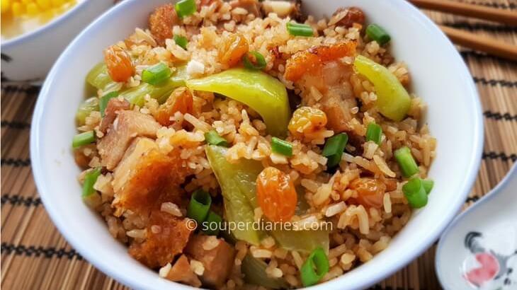 chinese mustard rice