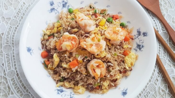 how to cook chinese shrimp fried rice
