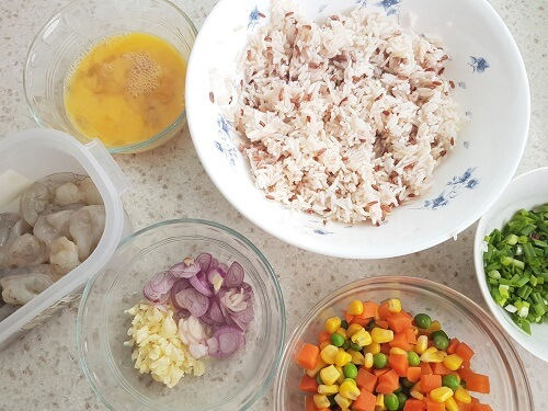 shrimp fried rice ingredients