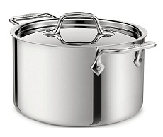 All clad stainless steel pot