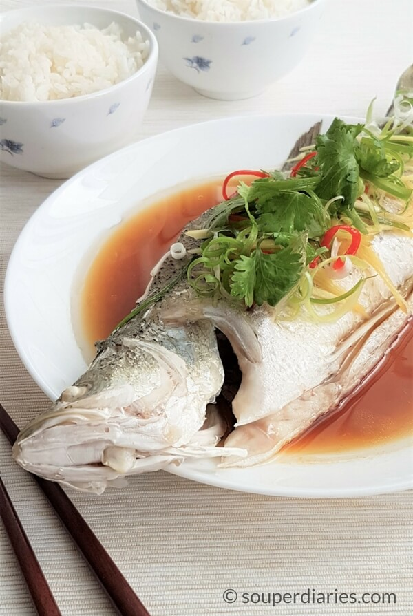How to cook steamed fish for How to steam fish