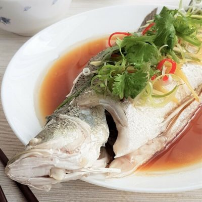 Cantonese-Style Steamed Fish Recipe