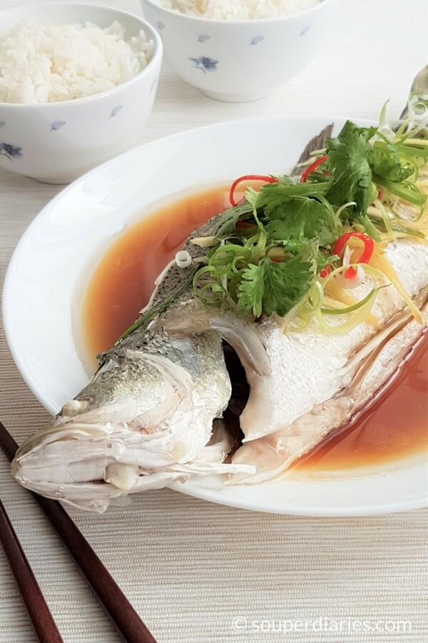 Chinese Steamed Fish Recipe Cantonese Style Souper Diaries