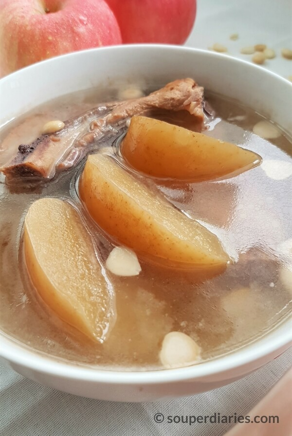 Chinese apple soup with pork ribs souper diaries apple pork ribs soup forumfinder Choice Image