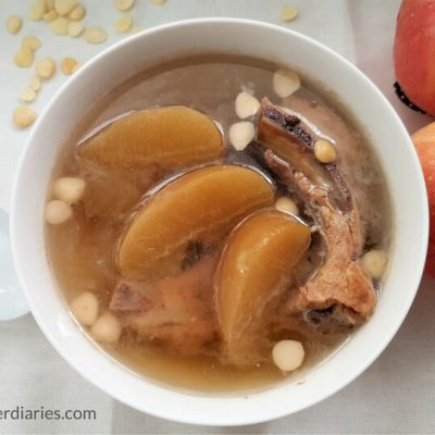 Apple Pork Ribs Soup