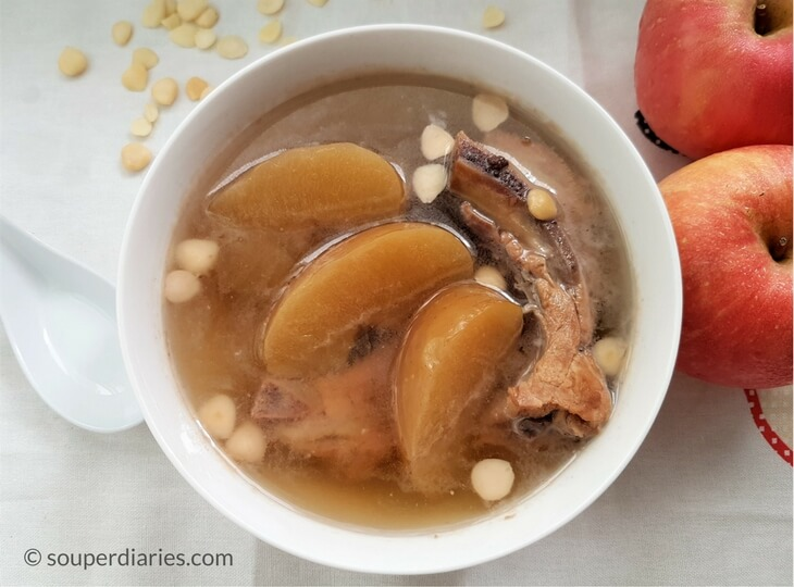 Apple Pork Ribs Soup
