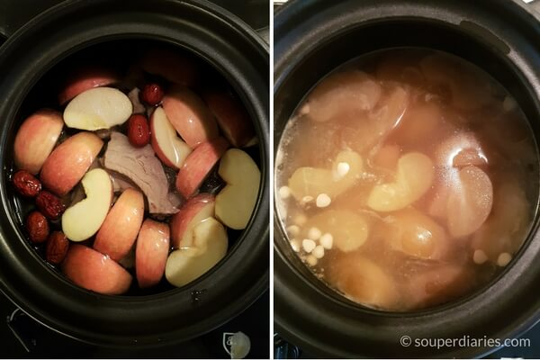 apple-with-pork-ribs-soup