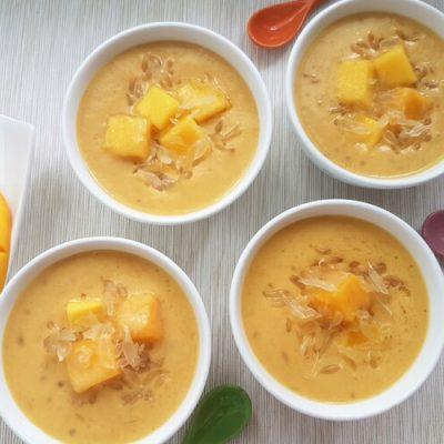 Mango Pomelo Sago Dessert (杨枝甘露)