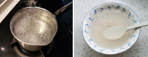 Cooking sago