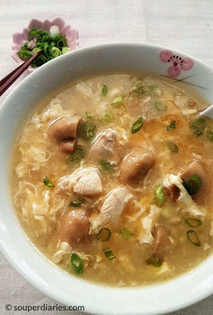Simple Chinese Egg Drop Soup