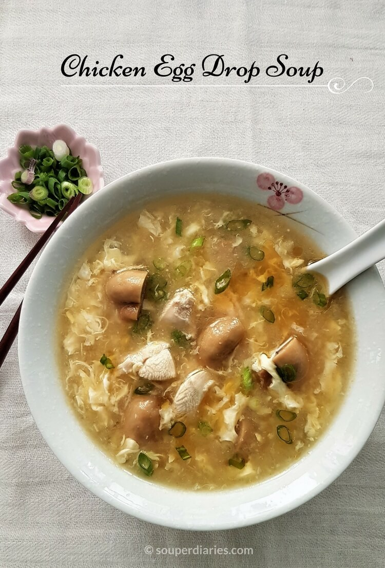 Soup with egg: recipes
