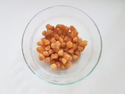 Dried scallops