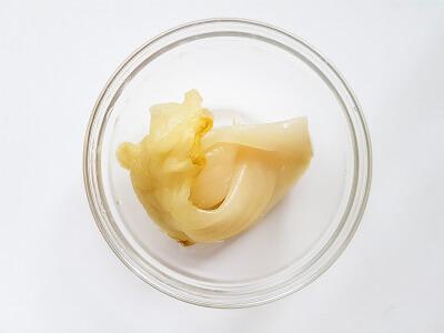 Pickled mustard leaves