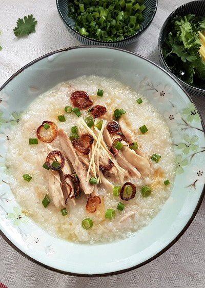 Chinese Chicken Congee
