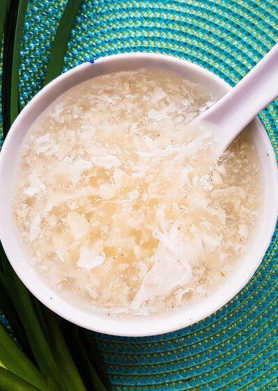 Water Chestnut Egg Dessert