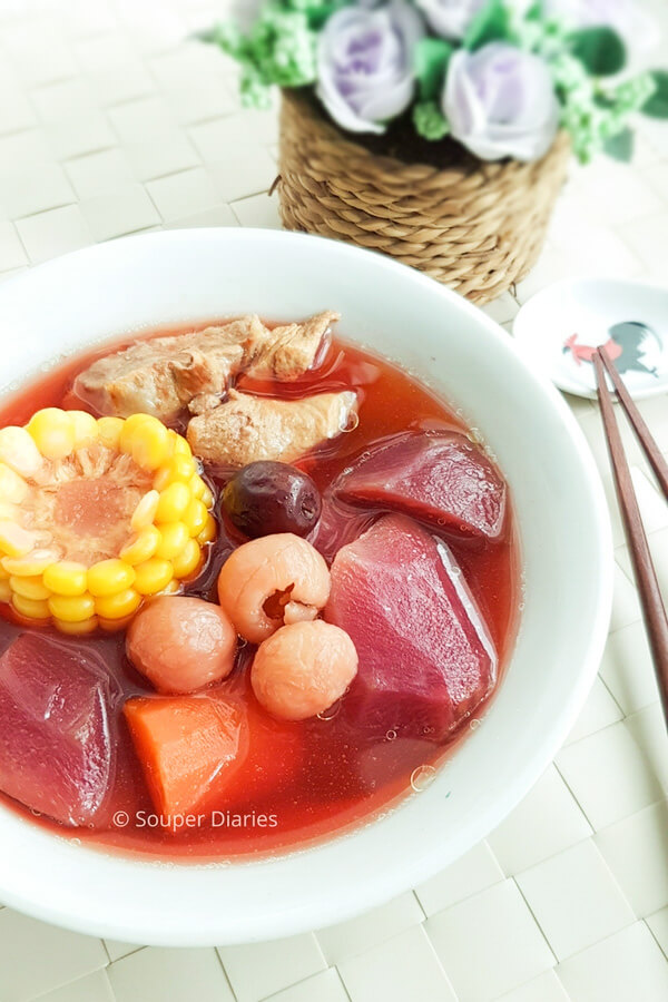 Chinese Beetroot Soup
