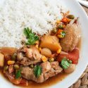 Chicken potato stew (thermal cooker recipe)