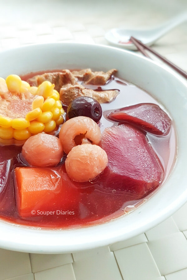 Beetroot and Corn Soup