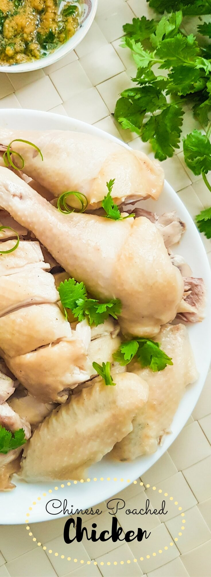 Chinese poached chicken