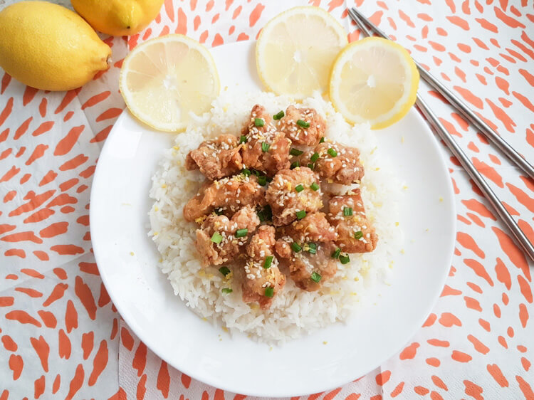 how to make easy chinese lemon chicken